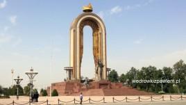 01- Duszanbe, pomnik Ismaila Samanidy I