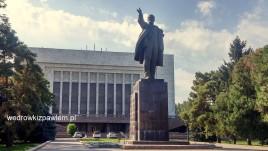11- Biszkek, pomnik Lenina
