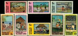 17- znaczki Tokelau