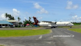 01- lotnisko na Funafuti, Tuvalu