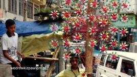 11- Kalimpong, sprzedawca uliczny
