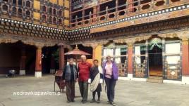28- Paro dzong, (Rinpung Dzong), twierdza-klasztor