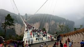 wielki kanion zhangijiajie szklany most