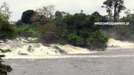 Kamerun,wodospady na rzece lobo