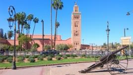 Marrakesz, minaret meczetu Kutubijja