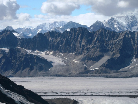 pocztówka z alaski,lodowce alaski,,najwyższy szczyt Ameryki Płn.,alaska, podróżowanie, tramping,