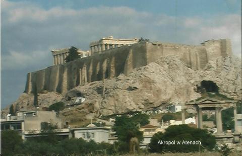 Akropol w Atenach,Europa,Ateny,mitologia grecka,Peloponez,kanal koryncki,wiszace meteory,the Saloniki,