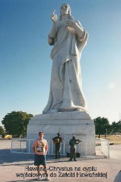 Hawana-Chrystus na cyplu wejsciowym do Zatoki Hawanskiej,Ameryka, morze karaibskie,Hawana, Fidel castro, cygara, Varadero, lodzki podroznik,pawel krzyk,