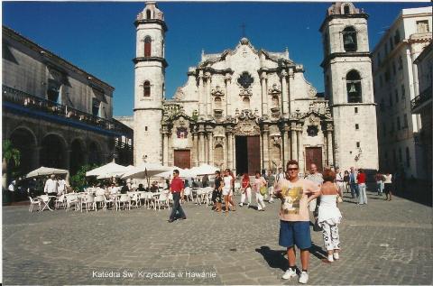 Katedra sw. Krzysztofa w Hawanie,Ameryka, morze karaibskie,Hawana, Fidel castro, cygara, Varadero, lodzki podroznik,pawel krzyk,