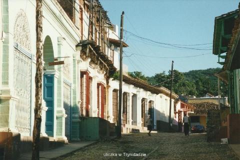 uliczka w Trynidadzie,Ameryka, morze karaibskie,Hawana, Fidel castro, cygara, Varadero, lodzki podroznik,pawel krzyk,