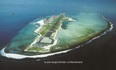 to jest wyspa lotnisko na Malediwach,ocean indyjski,wyspy, raj na ziemi, nurkowanie,podroznicy polscy,