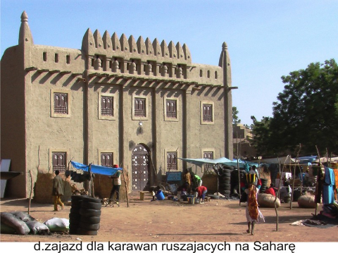 meczet w dzenne, timbuktu,sahara,