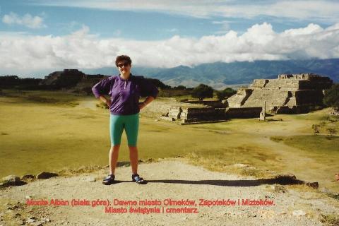 Monte Alban ,(biala gora), Dawne miasto Olmekow, Zapoteków, Miztekow,Miasto swiatynia, cmentarz,