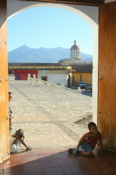 Paweł Krzyk,wyprawy,łodzianin,łódzki podróznik,Granada,Managua,