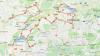 mapka trasy w Szwajcarii czIII do niemiec