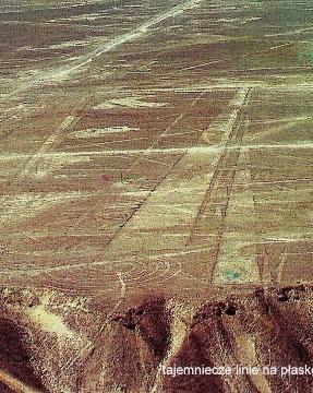 tajemnicze linie, na plaskowyzu Nazca,