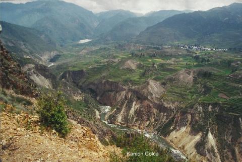 Kanion Colca,inkowie,lima,cusco,jezioro titicaca,makczupikczu.