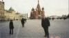 Moskwa w czasie targów w 2001