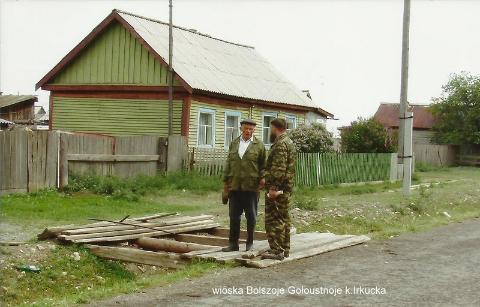 wioska Bolszoje Goloustnoje, k.Irkucka,