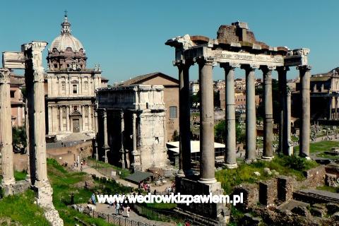 www.wedrowkizpawlem.pl. Rzym, Forum Romanum