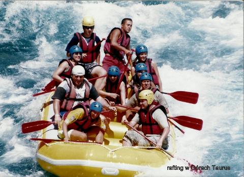 rafting, w Gorach Taurus,