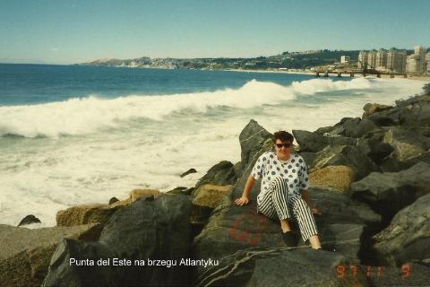 Punta del Este na brzegu Atlantyku,Ameryka Pld.,Montevideo,la plata,punta del este,podroznicy polscy,pawel krzyk,film,