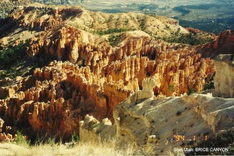Stan Utah, BRICE CANYON, stany zjednoczone, parki narodowe usa,podroznik, lodzianin,spotkania,prelekcje,filmy,